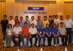 Toyo Products Training Held